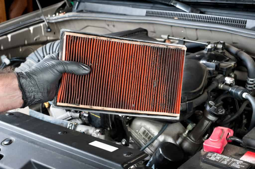 How to check your cars air filter