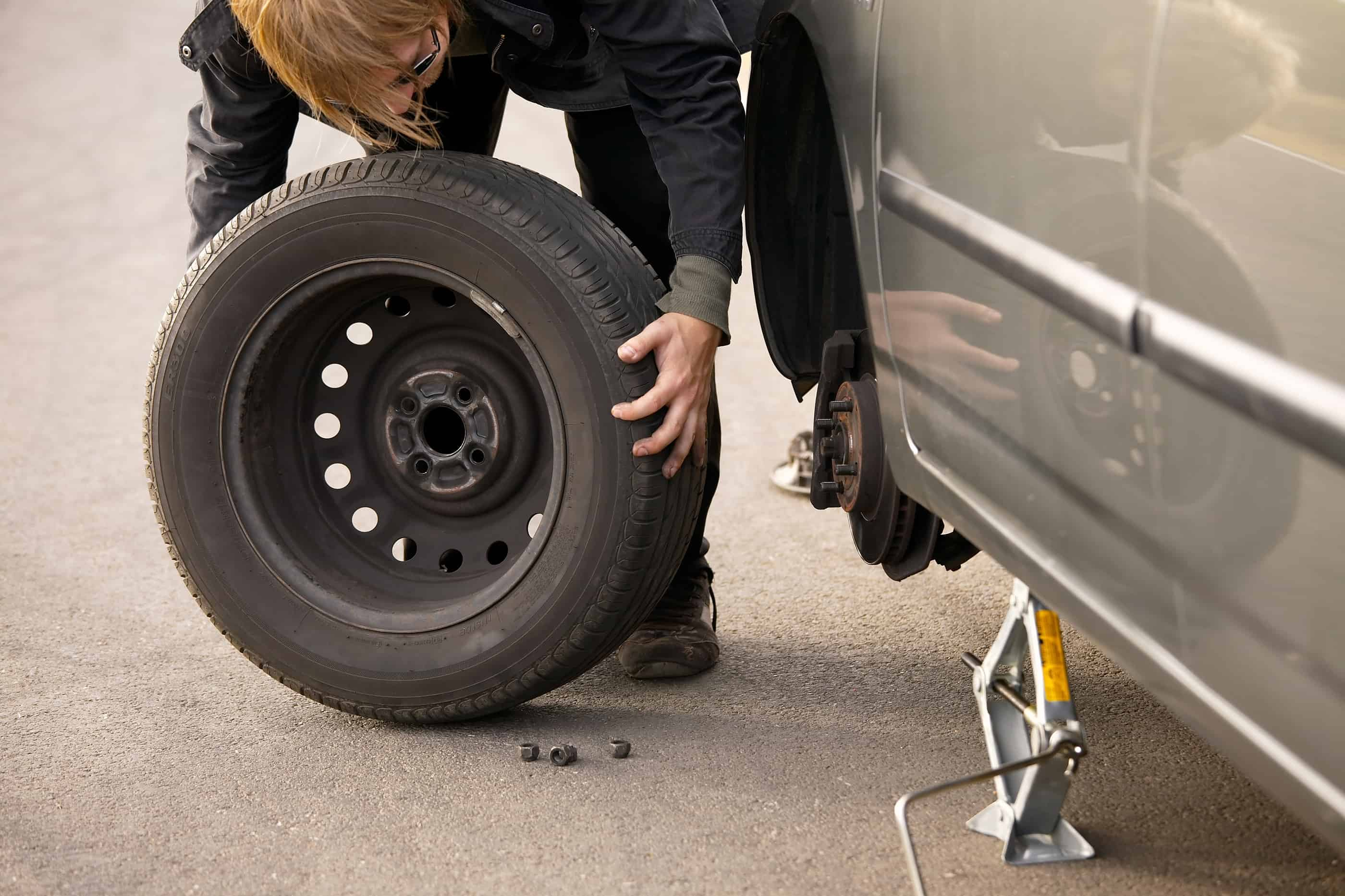 a detailed process of changing a tire Task: changing a tire page 3 of 4 1-11 low risk 12-22 medium risk 24-64 high risk • as the vehicle begins to lift, double check that the jack is properly positioned never get under the vehicle when the jack alone supports it you will need more ground clearance.