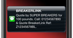 BreakerLink Now Offers Free SMS Quotation Service