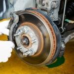 Changing a Brake Disc