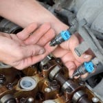 Replacing a Fuel Injector