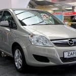 Vauxhall Zafira common problems
