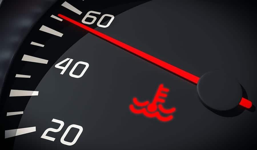 engine temperature light