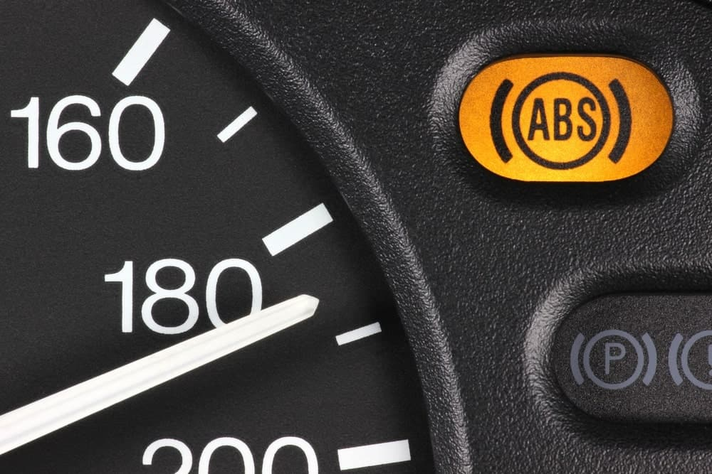 ABS light on dashboard