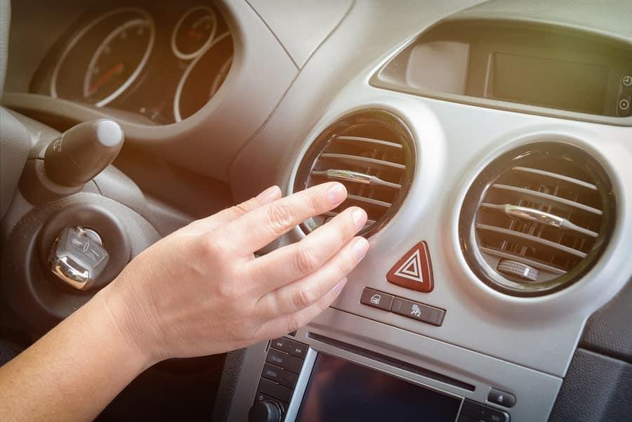 cars interior overheating