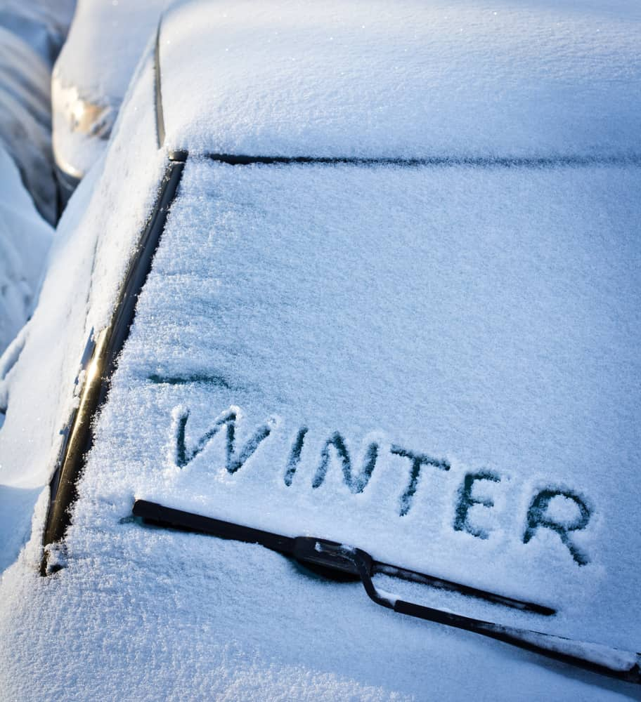 storing your car in winter